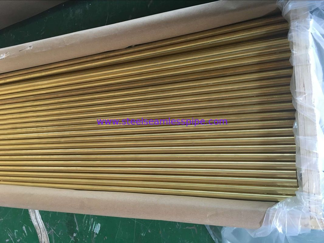 ASTM B111 C70400 C70600 copper nickel pipe , ASTM B88 ASTM B688 copper nickel tubing