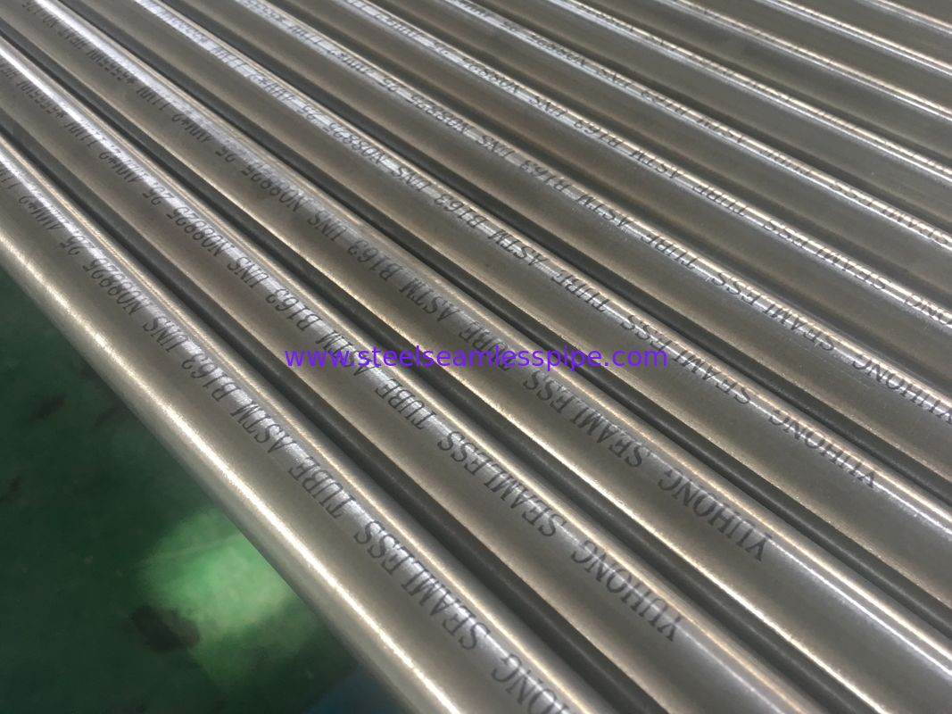 Incoloy Alloy 825,880,800H,925,926 seamless pipe , Nickel Alloy Pipe ASTM B 163 / ASTM B704, 25.4MM