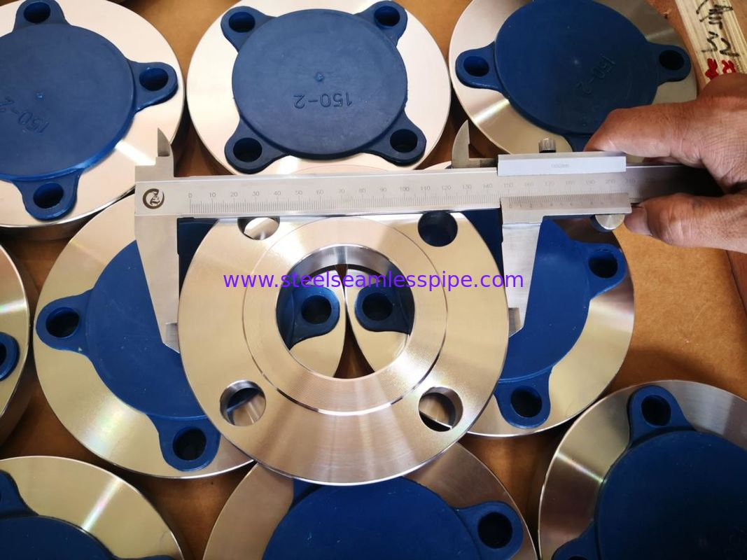 Environmental Friendly Material Steel Flanges Weld Neck Flange Type PED Certification